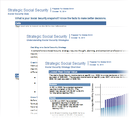 Social Security Reports